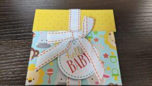 出産祝い用のAmazonギフト券(封筒タイプ)